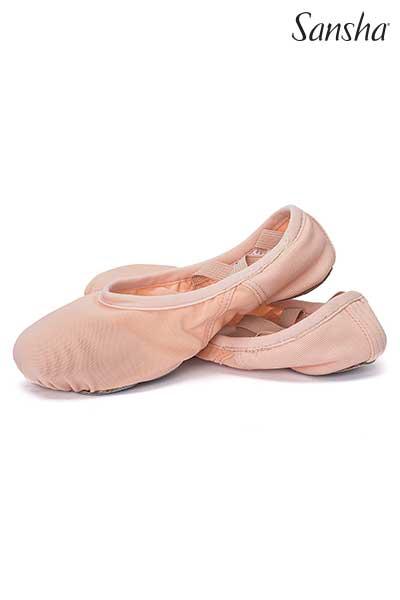 Sansha unique MESH ultra-light ballet shoe HAVANA 357X