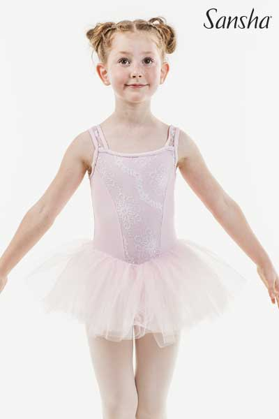 Sansha sleeveless tutu dress FLAURINE 68AE0007M