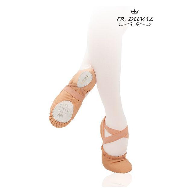 Duval split sole ballet slipper PARIS 21C