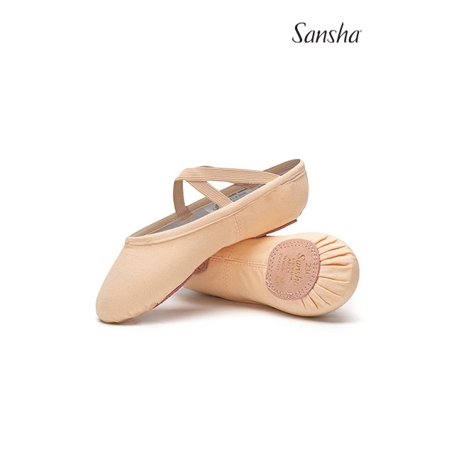 Sansha split sole ballet slipper JULI 23C