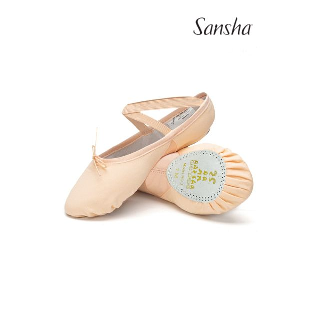 Sansha soft shoes split sole SILHOUETTE 3C
