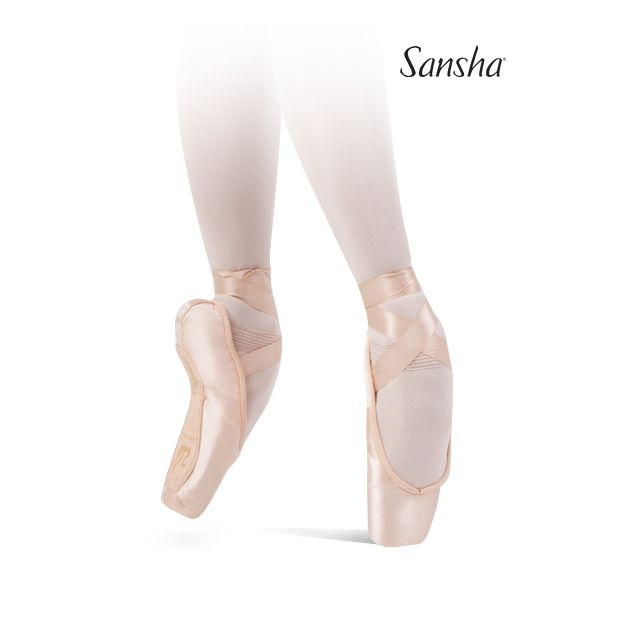 Sansha Flat box pointe shoes ALLEGRO 501S