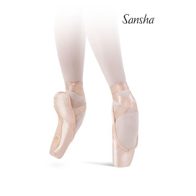 Sansha pointe shoes vegan sole ALLEGRO 501SP