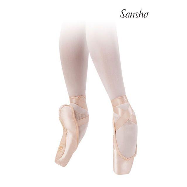 Sansha Flat box pointe shoes ALLEGRO 502SL