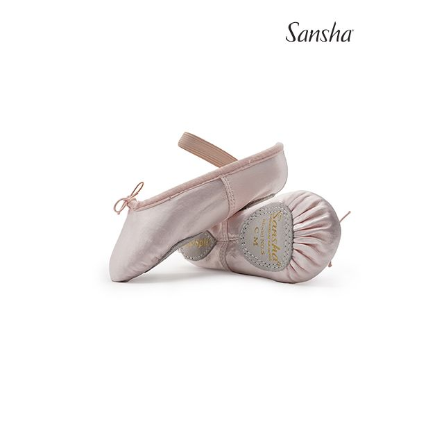 5S TUTU-SPLIT Saténové baletní piškoty pro děti