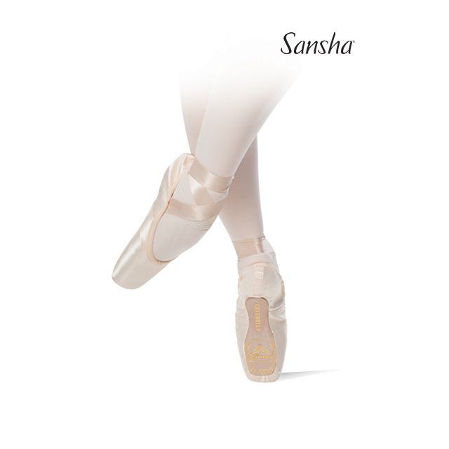 Sansha pointe shoes light shank CELEBRITA 600S