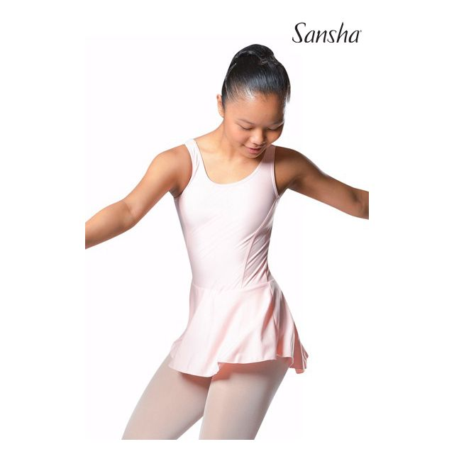 Sansha Tank leotard attached skirt ANIUTA E518M