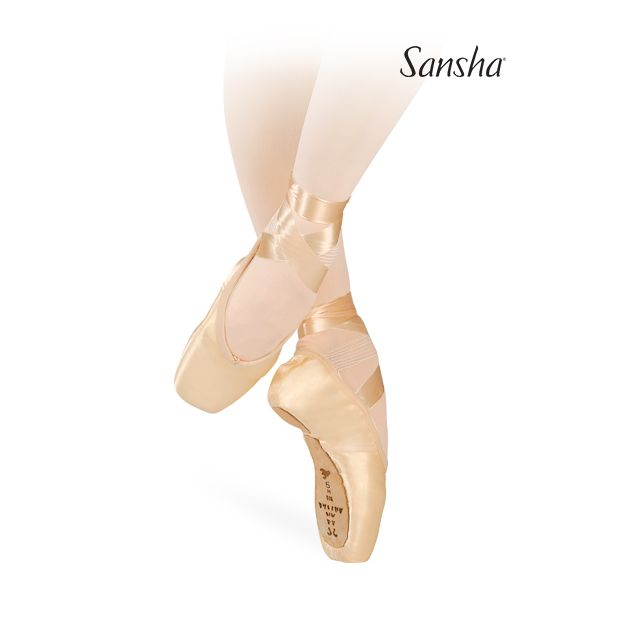609S LEGENDE Professional pointe shoes with double sole construction