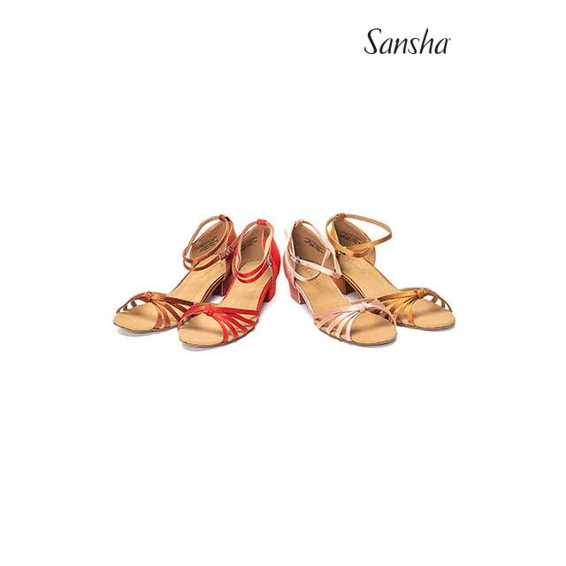 Sansha latin bow suede sole GRACIA BR13026S