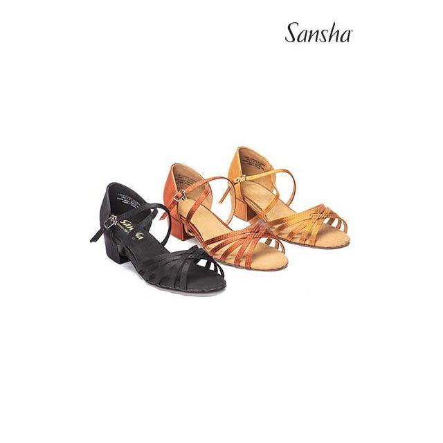 BK13061S JAZMIN Dívčí obuv na společenské tance
