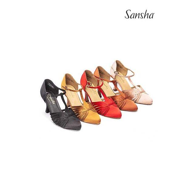 Sansha Ballroom suede sole LUISA BR30013S