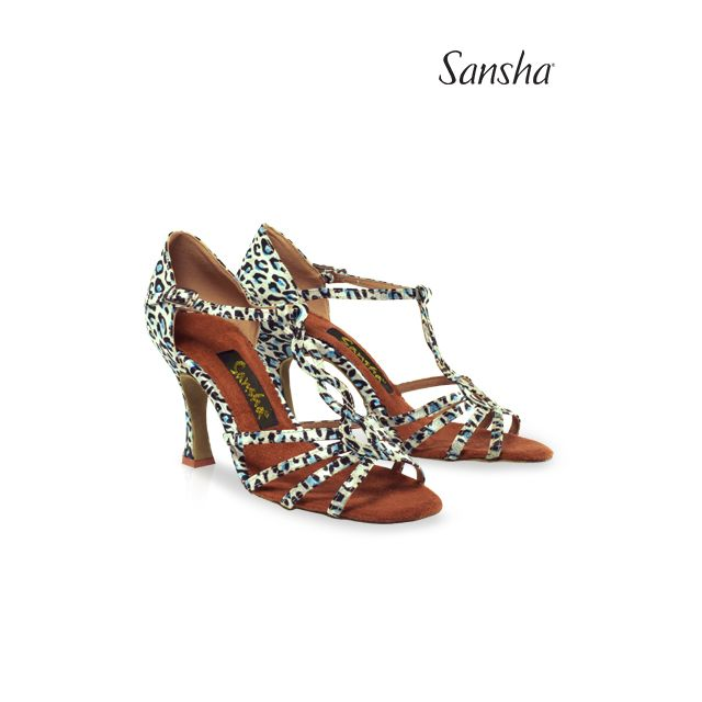 Sansha latin ballroom suede sole MANUELA BR31031S