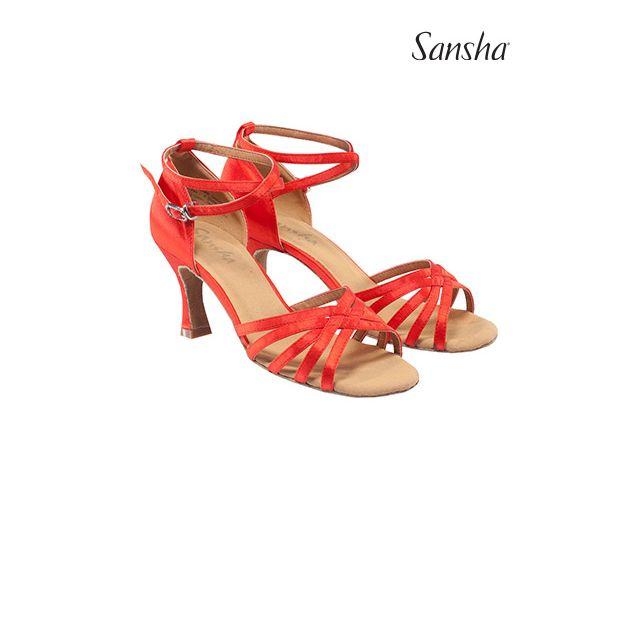 Sansha ballroom shoes suede sole REGINA BR31034S
