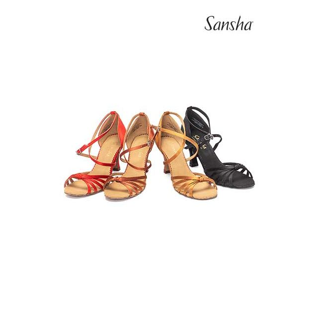 Sansha latin bow suede sole CALIOPA BR31039S