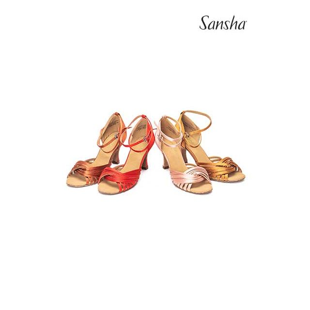 Sansha latin ballroom suede sole ASHLEY BR31065S