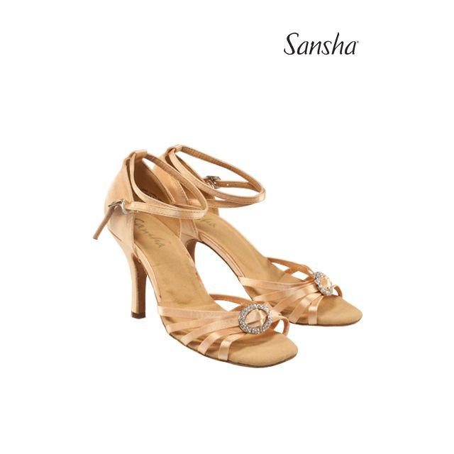 Sansha Ballroom suede sole DOLORES BR33051S