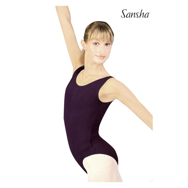 Sansha sleeveless leotard TOLIARA C160C