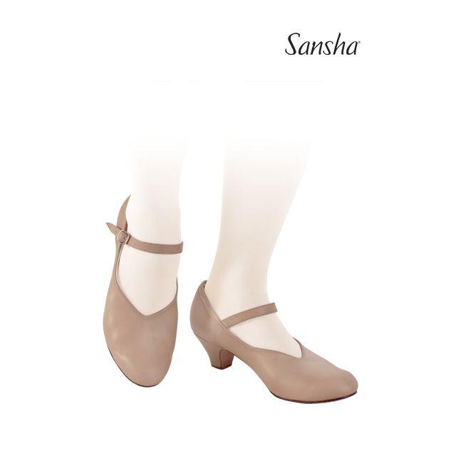 Sansha character shoes LORETTE CL52L