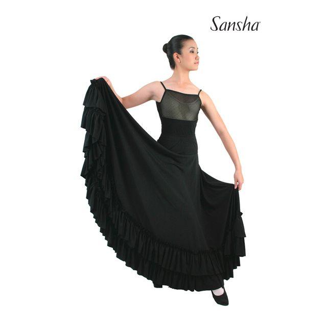 Sansha Flamenco skirt ruffles CARMEN D0910P