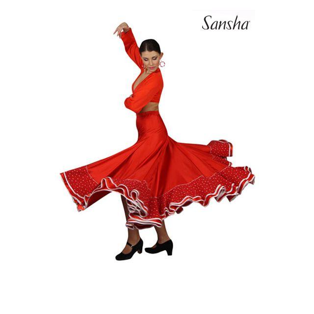 Sansha Flamenco skirt ESPERANZA D0912N