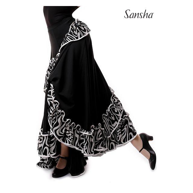 Sansha Famenco skirt ruffles PALOMA D0913P