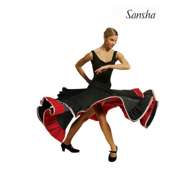 Sansha Polka flamenco skirt CATALINA D0914P