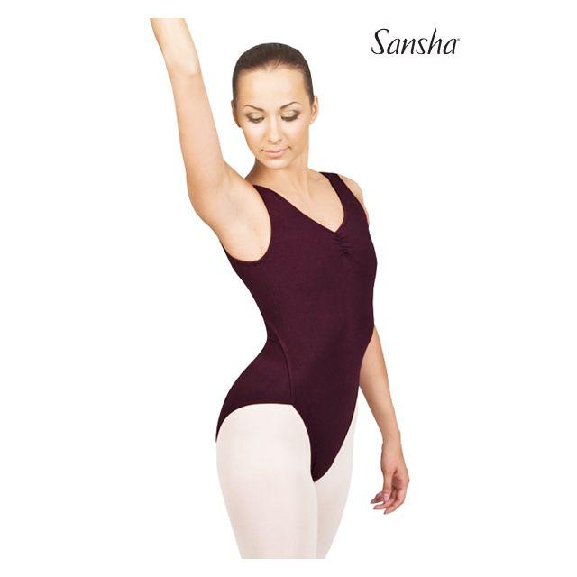 Sansha sleeveless leotard VANUATU D252C