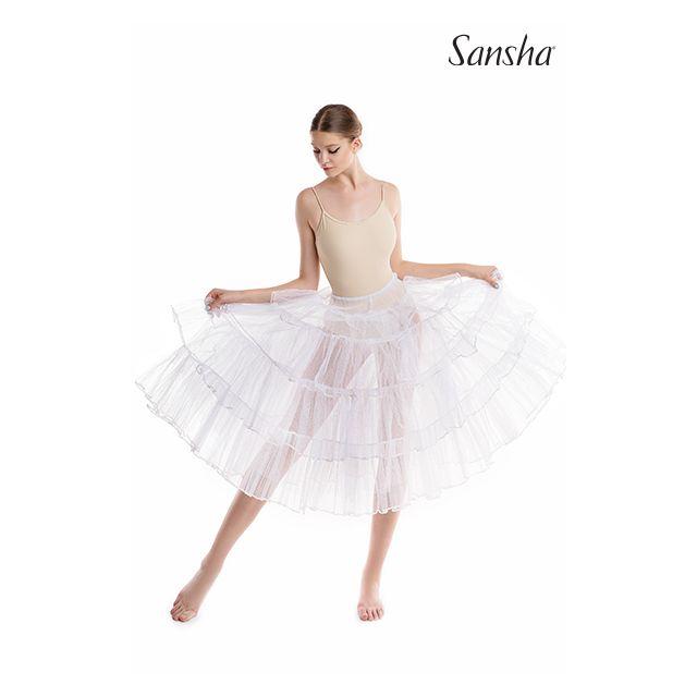 Sansha Long tutu skirt flounces TIMEA DF0901