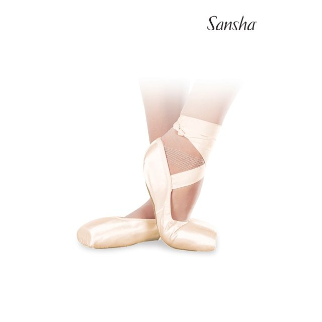 Sansha demi-pointe AMERICAN SOFT-TOE DP801SP