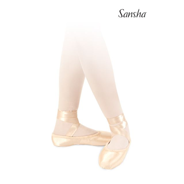 Sansha demi-pointe ENGLISH SOFT-TOE DP802SP