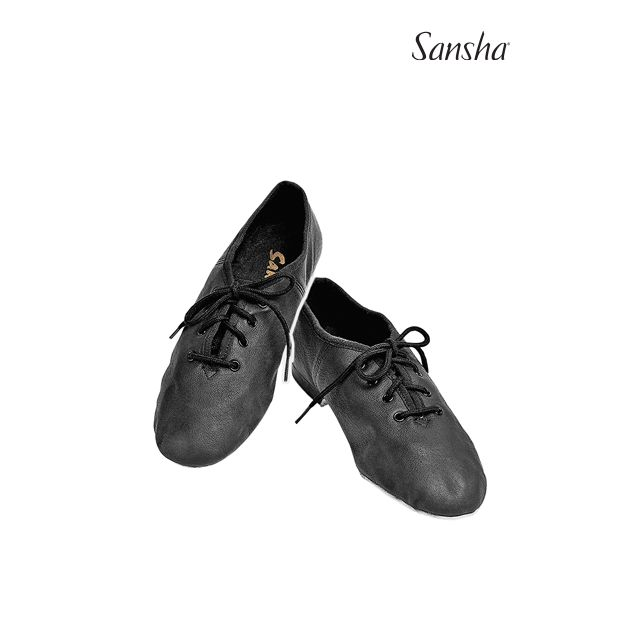 Sansha Youth Lace-up Jazz Shoes  CARROUSEL JS16L