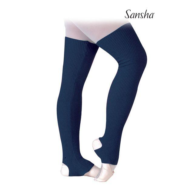 Sansha Stirrup leg warmers GENTIAN KC004