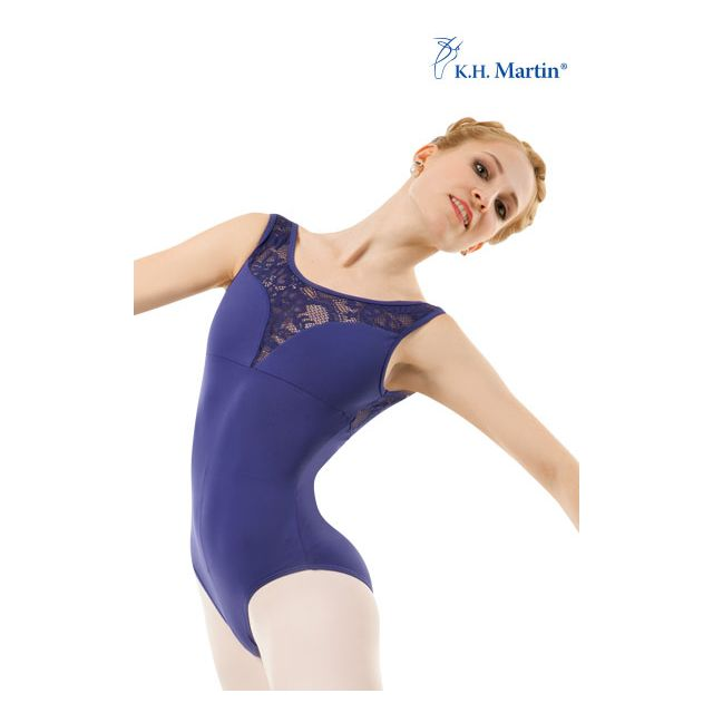K.H. Martin sleeveless leotard mesh AYLIN KH2571M