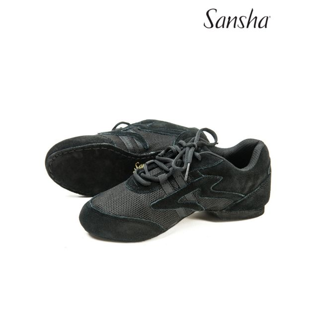 Sansha leather jazz sneakers SALSETTE 1 V931L