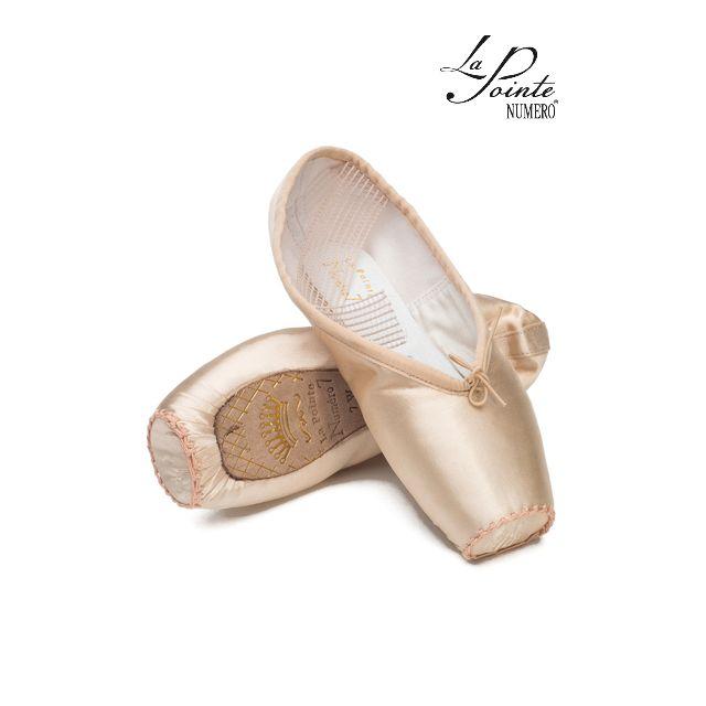 LaPointe demi-pointe leather sole NUMERO 7 7SL