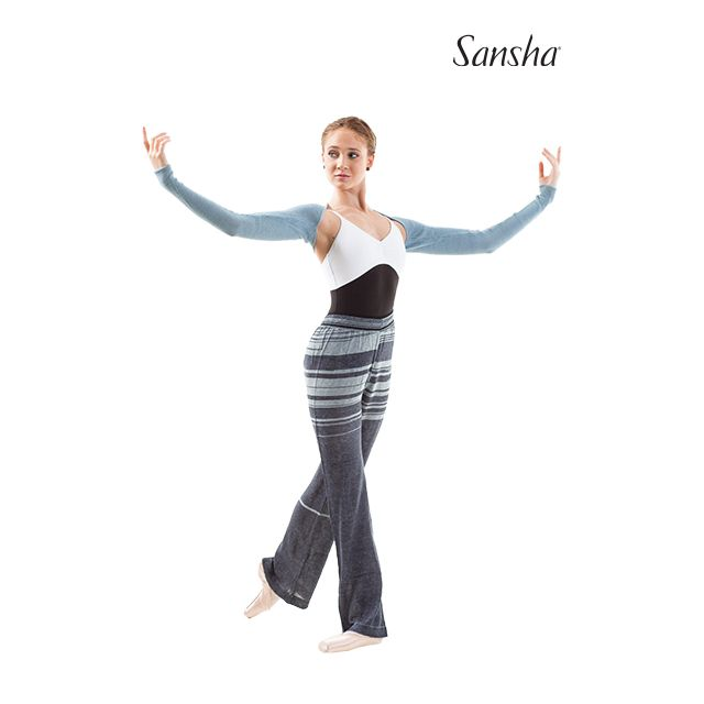 Sansha Long sleeve back warmer MAGNOLIA KCT13