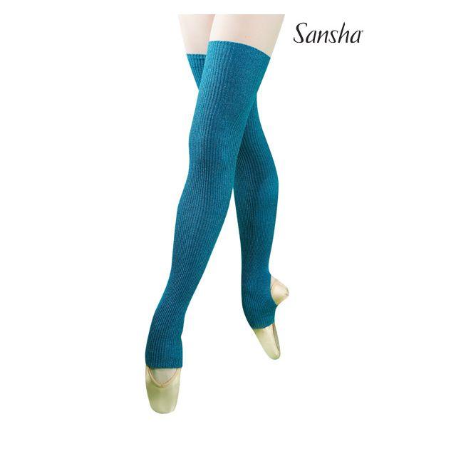 Sansha Stirrup leg warmers MULBERRY2 KS004