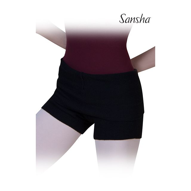 Sansha Ribbed shorts DAHLIA KS060
