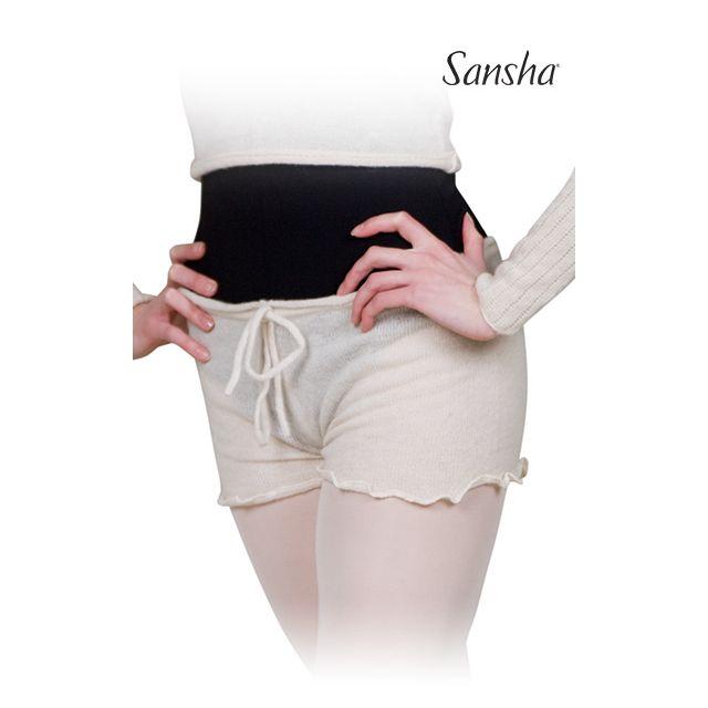Sansha Knitted shorts ruffles KALINDA KT0619A