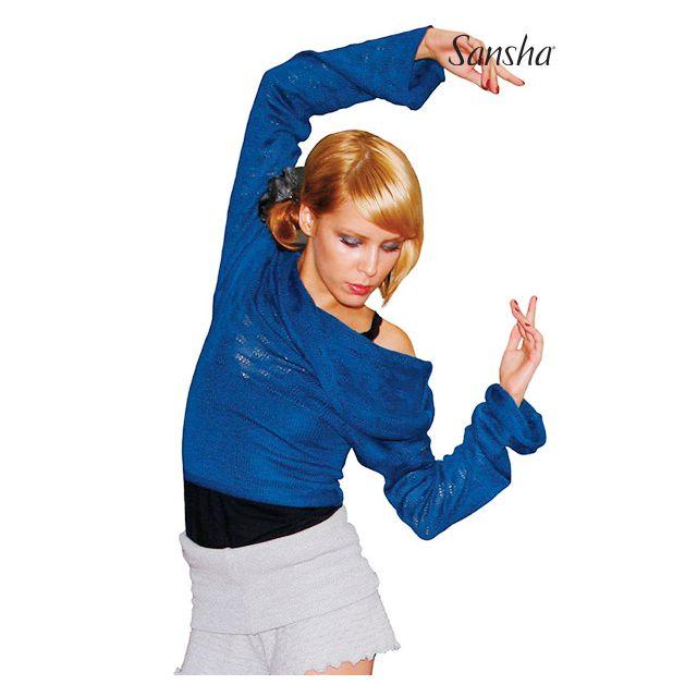 Sansha Knitted wrap sweater KASIOPEIA KT4041A
