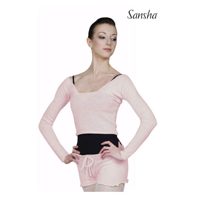 Sansha Ribbed knitted sweater KARISSA KT4035