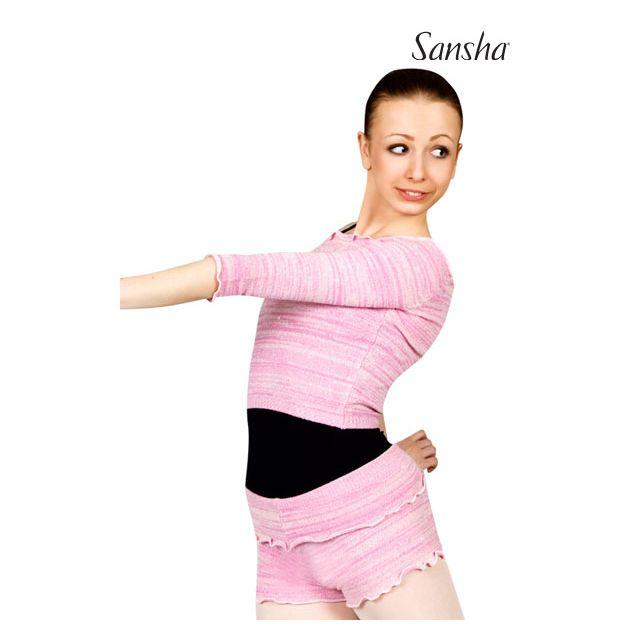 Sansha 3/4 sleeve knitted sweater KAYLEAN KT4047A
