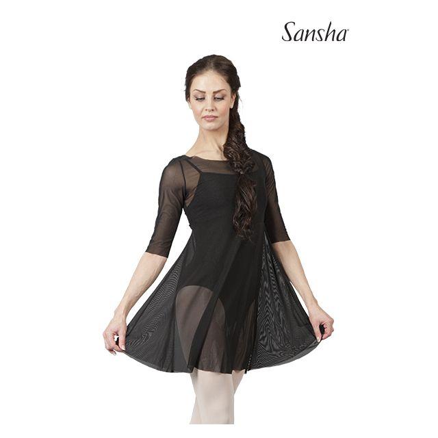 Sansha sleeve medium length dress SECRET L1725P