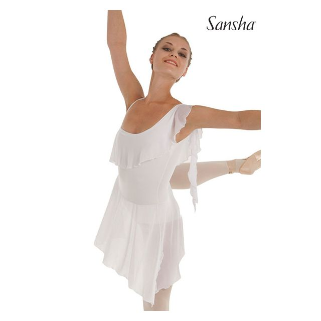 Sansha Asymetric dess ruffles TIPPI L1813M