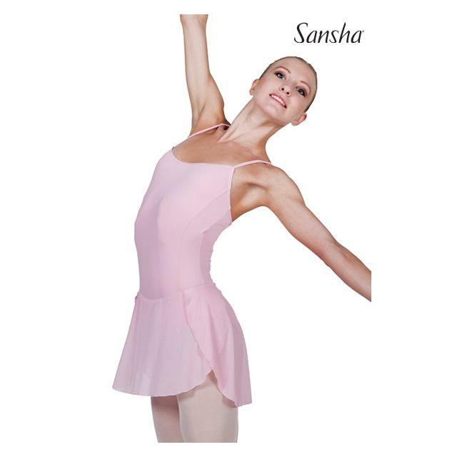 Sansha camisole leotard wrap skirt SEDILIA L1815M