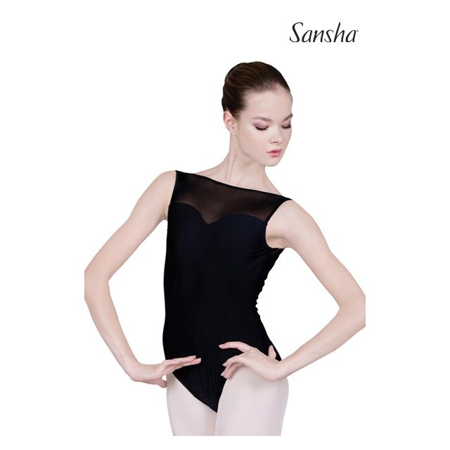 Sansha sleeveless leotard TONELLA L2520T
