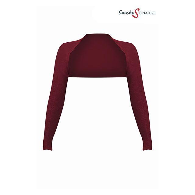 Sansha Sign long sleeve back warmer KASEY L4054A
