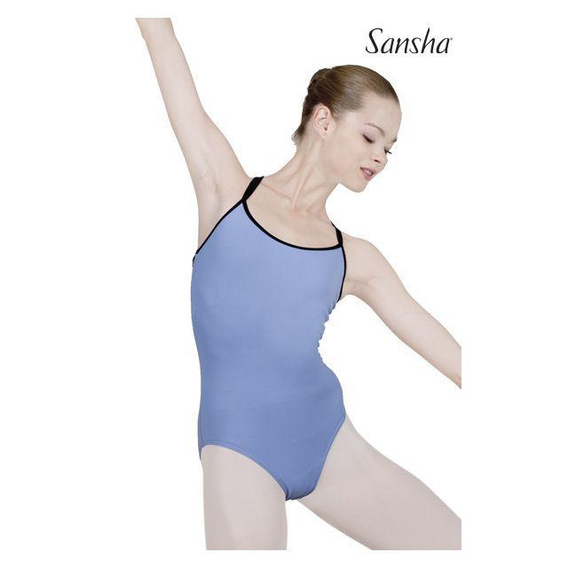 Sansha duotone camisole leotard MIRA LE1563M