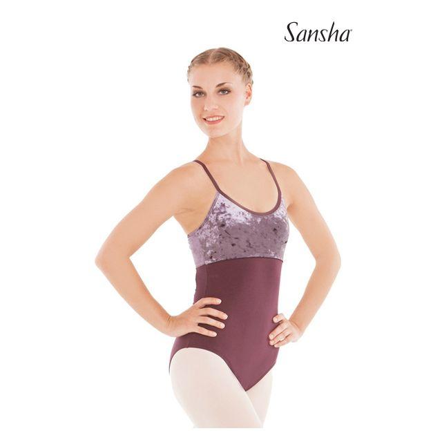 Sansha camisole leotard TAFFY LE1576C