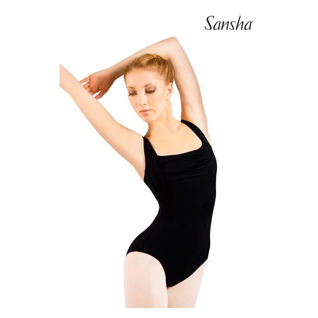 Sansha sleeveless leotard MARION LE2529M